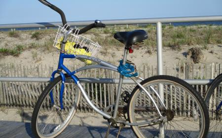 Biking on the Boardwalk