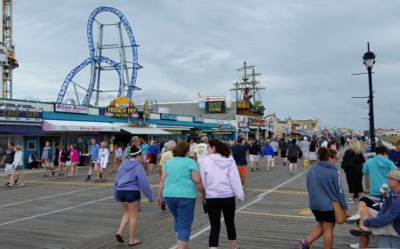 Amusement park on Boardwalk