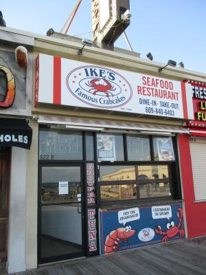 Ike's Famous Crabcakes, Ocean City, New Jersey